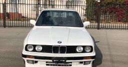 BMW E30 325iS 2 Door Coupe Vintage Alpine White