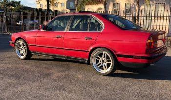 BMW 535i, 5 Speed / Manual M30 3.5L Red full