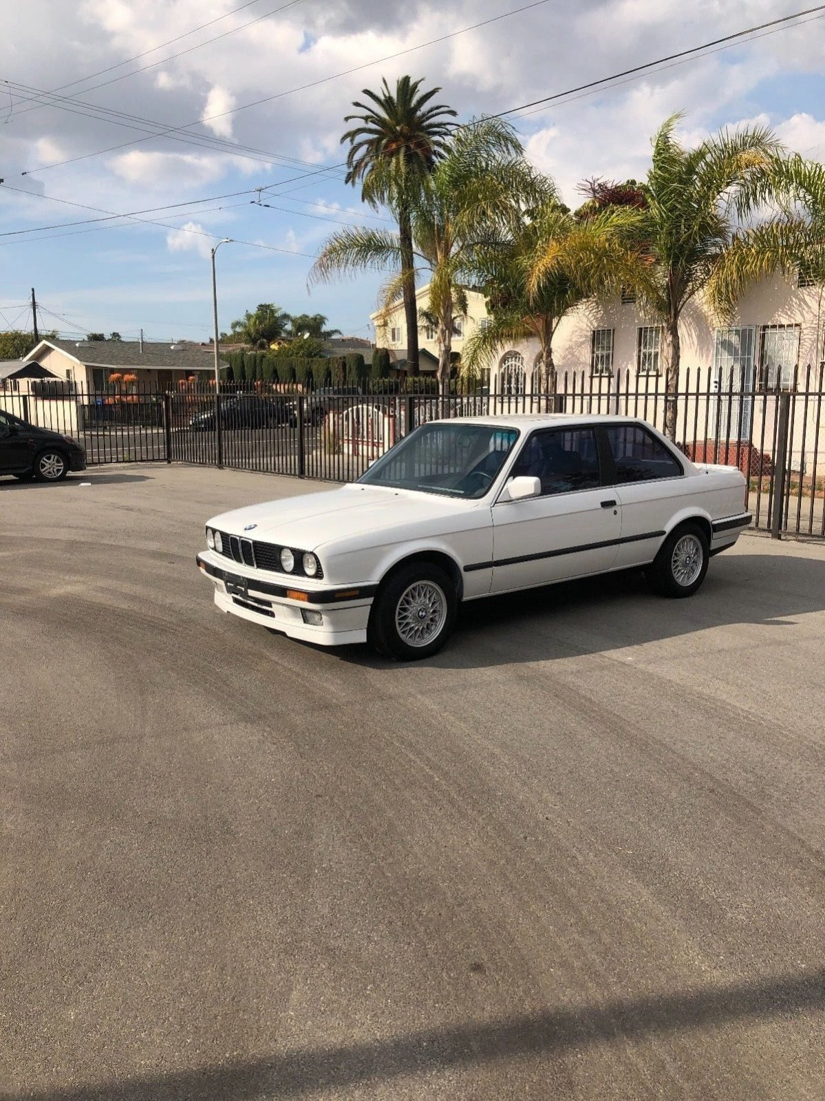Bmw E30 325is 2 Door Coupe Vintage Alpine White Brothers Motorworks